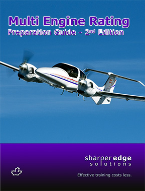 Multi Engine Rating Preparation Guide - 1st EditionCover