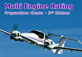 Multi Engine Rating Exam Preparation Guide Cover